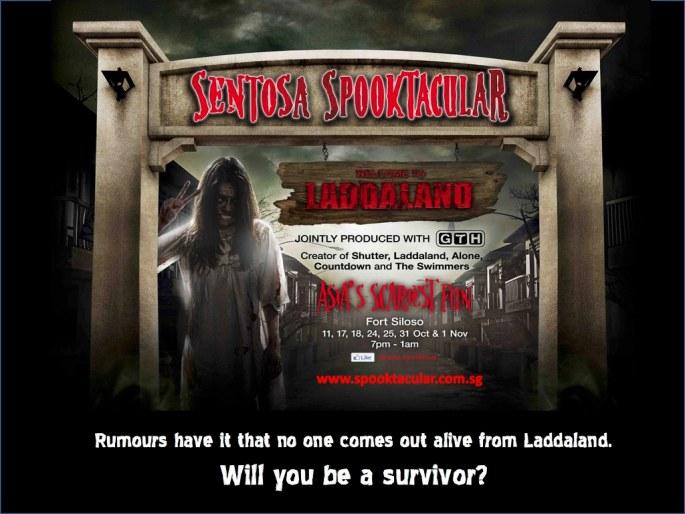 Sentosa Spooktacular 2014 Summary information