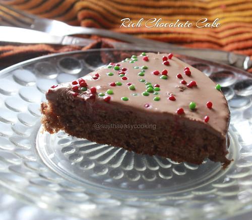 Rich Chocolate Cake3