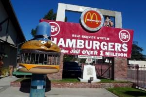 Californie - san bernardino McDonald
