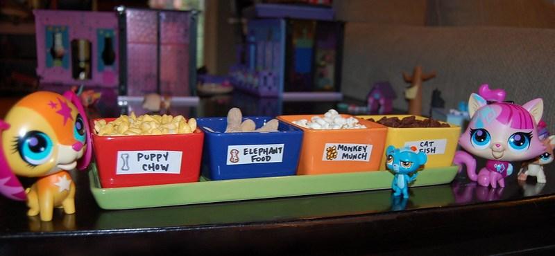 Littlest Pet Shop party snacks