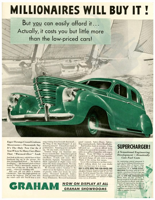 1938 Graham Supercharger