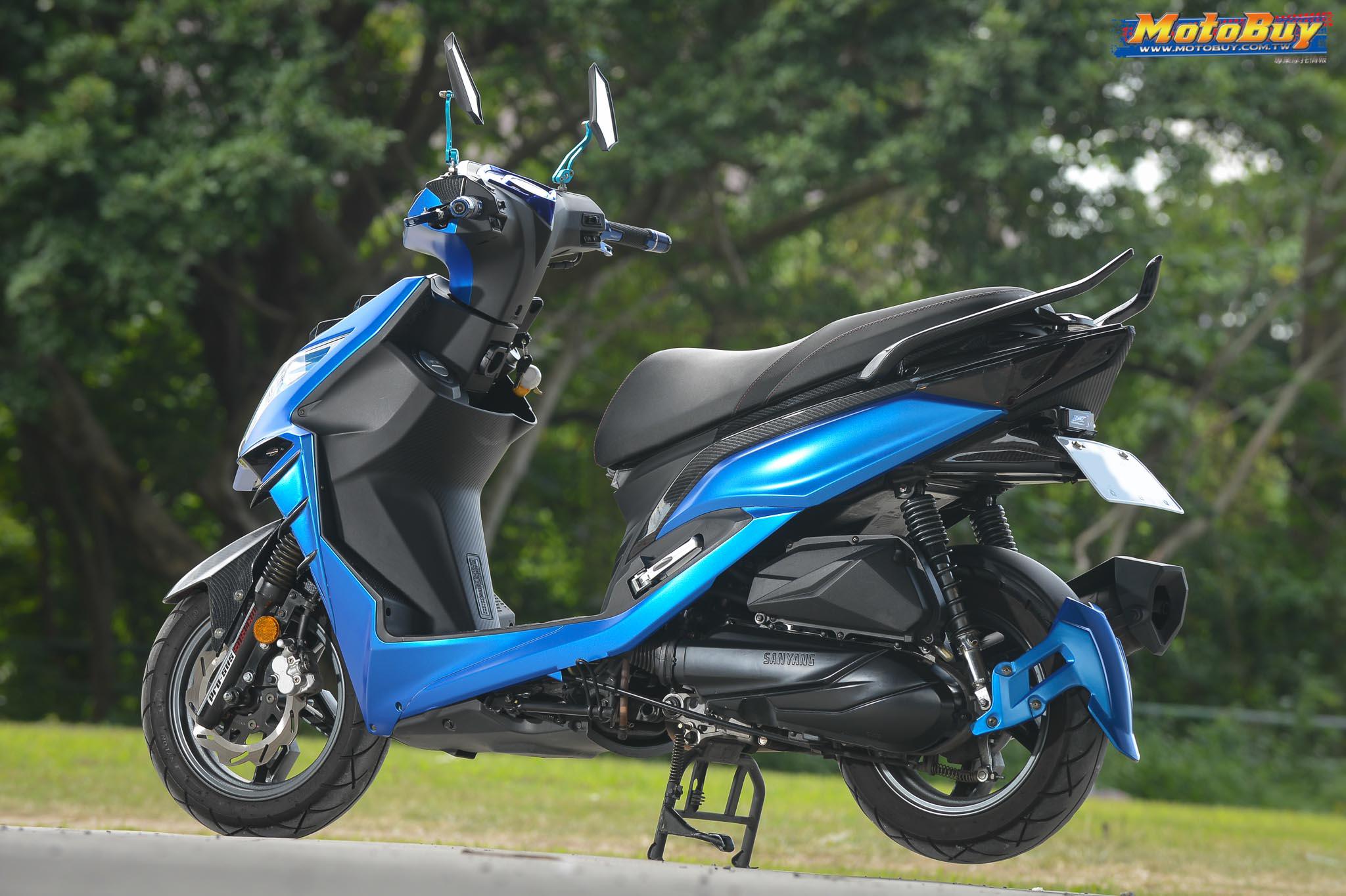 [夯車分享] 低調的藍惡魔 - SYM JET S 125   MotoBuy