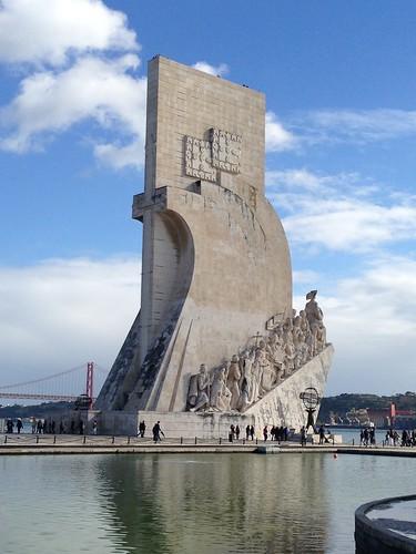 Monumento a los descubrimientos, Lisboa