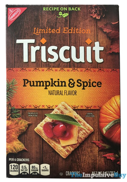 Limited Edition Triscuit Pumpkin & Spice Crackers