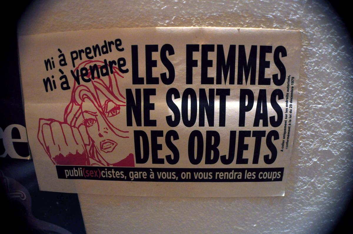 LES FEMMES NE SONT PAS DES OBJETS