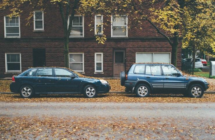 Cars in Autumn