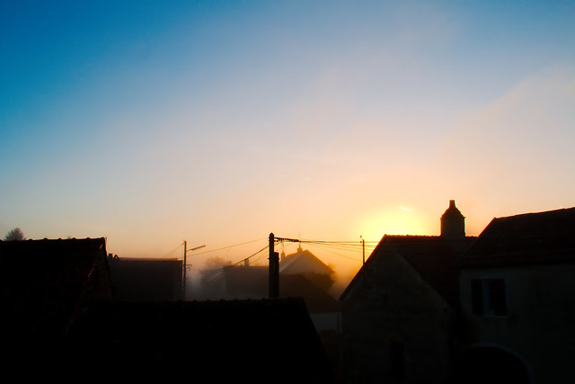 Levé de soleil du 13-11-2014