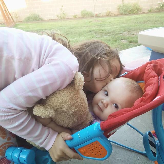 Sister, meet Pooh Bear... :-)