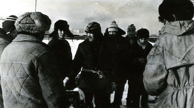 Зима вся команда