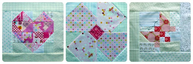 Blocks for special baby quilt