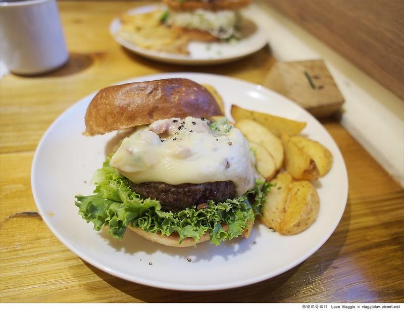 台中餐廳,漢堡料理,田樂學院店,老屋餐廳 @薇樂莉 Love Viaggio   旅行.生活.攝影