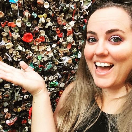 Obligatory San Luis Obispo gum wall selfie.
