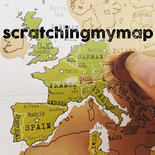 Scratching my map
