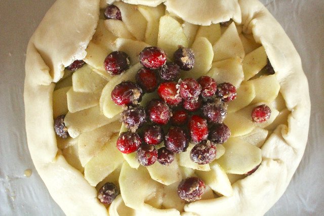 Apple Cranberry Galette - 16