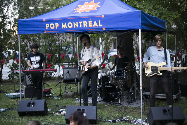 Ought @ Pop Montreal 2015