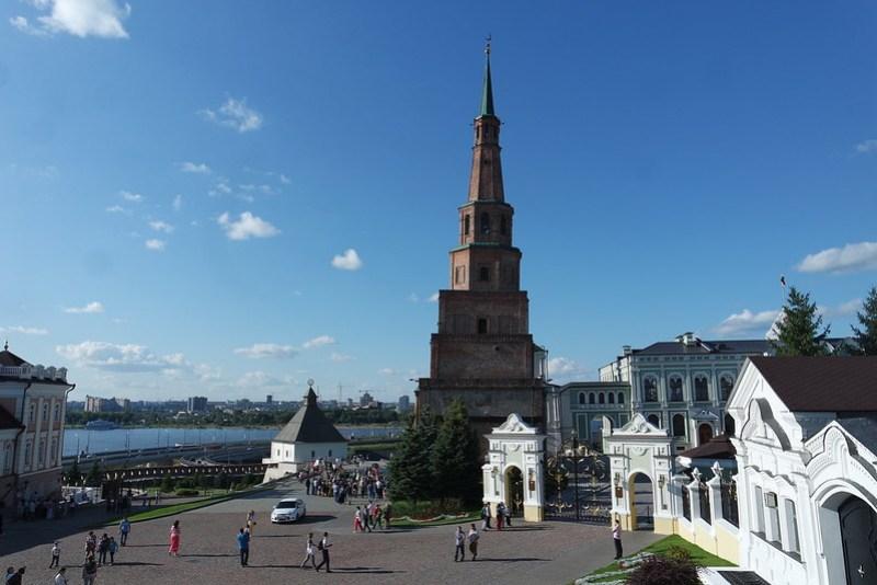 Torre, Kremlin de Kazán