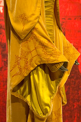 Sleeve Detail, Yellow Handmaiden gown