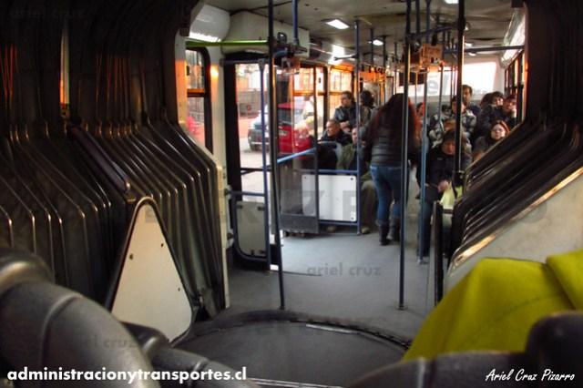 Transantiago - Inversiones Alsacia - Busscar Urbanuss / Volvo (ZN5753)