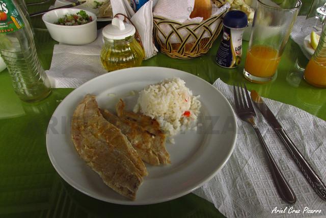 Almuerzo - Restaurant Los Troncos (Los Choros)