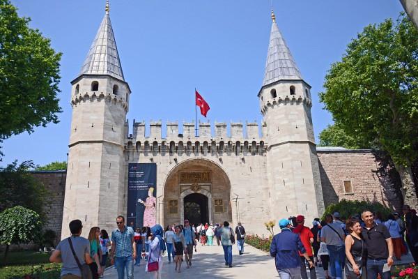 トプカプ宮殿挨拶の門