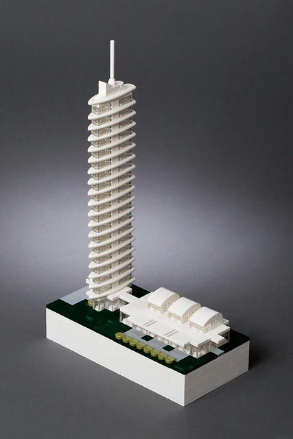 LEGO Microscale Tower
