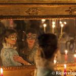 Viajefilos en el Carnaval de Venecia, cena de carnaval 14