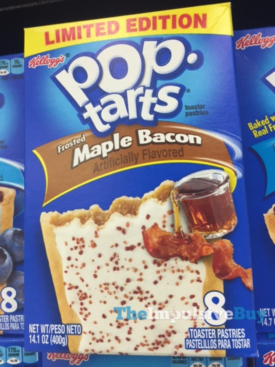 Limited Edition Frosted Maple Bacon Pop-Tarts