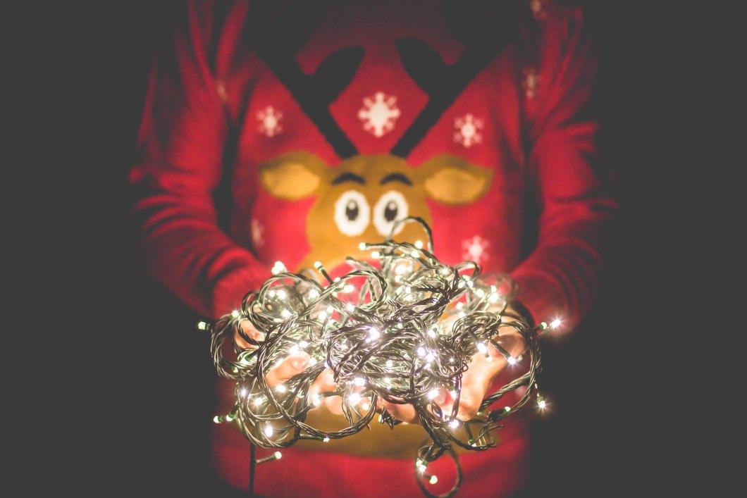 Imagen gratis de unas luces de navidad