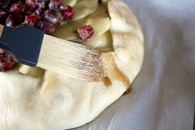 Apple Cranberry Galette - 17