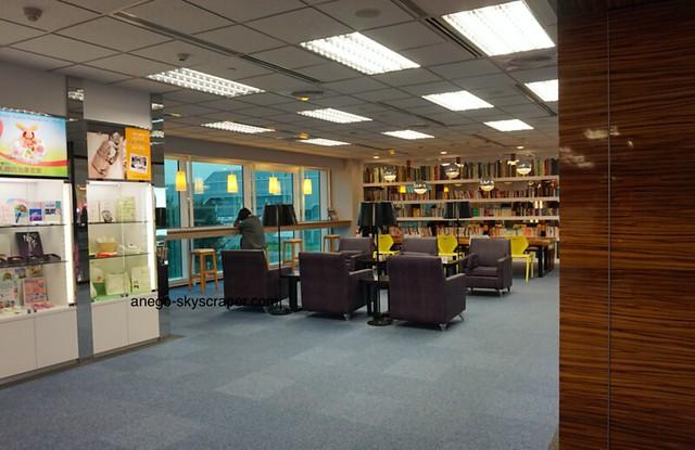桃園空港 図書室