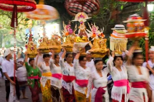 Procession. Bali