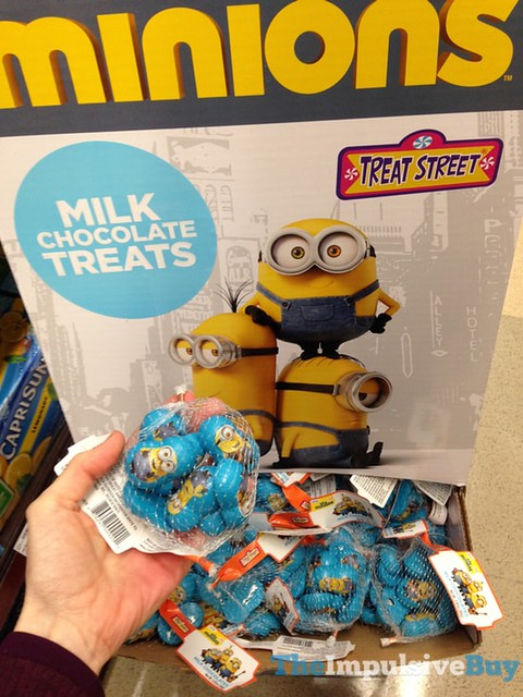 Treast Street Minions Milk Chocolate Treats