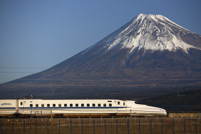 Series N700 with Mt.Fuji