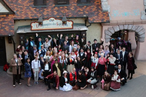 Dapper Day group shot