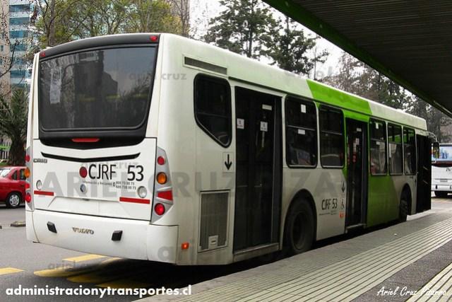 Transantiago - Inversiones Alsacia - Caio Mondego L / Volvo (CJRF53)