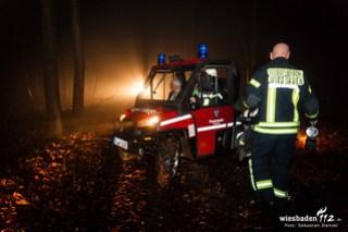 Pkw im Wald festgefahren, Sonnenberg, 17.12.15