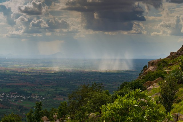 View from Makalidurga Hill Fort