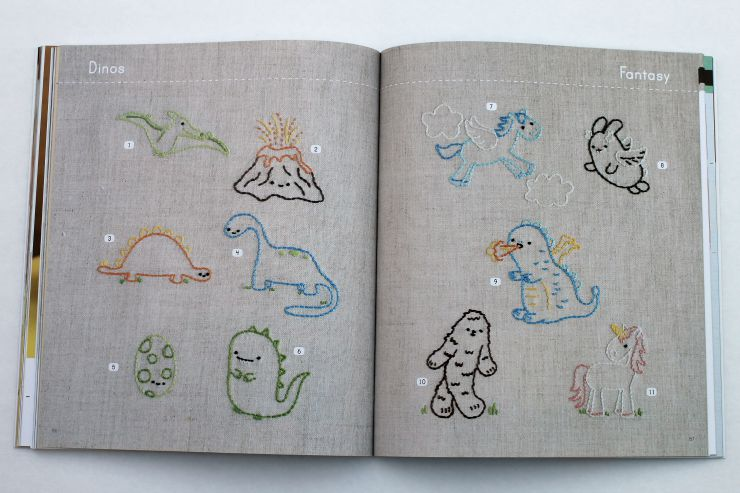embroidery motifs from Stitch Love