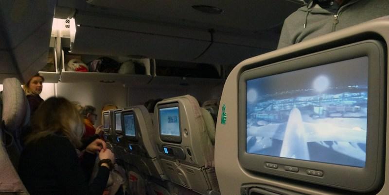 1 - Carnet de Thaïlande - 01 - Dans l'avion