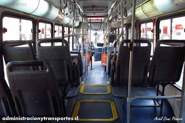 Transantiago - Subus Chile - Caio Mondego L / Volvo (WA7841) (7033)