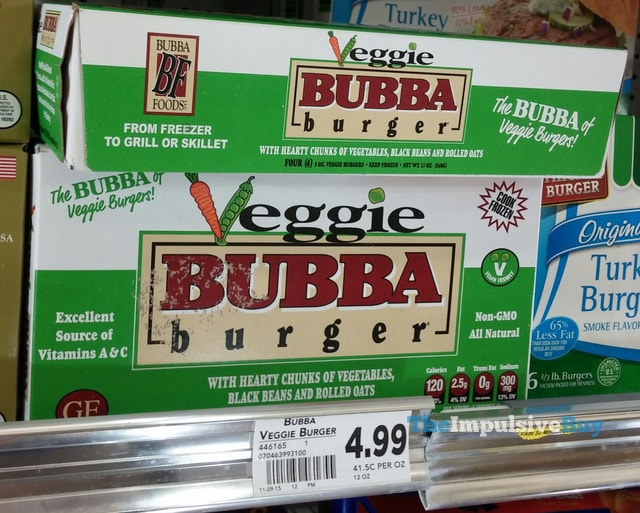 Veggie Bubba Burger