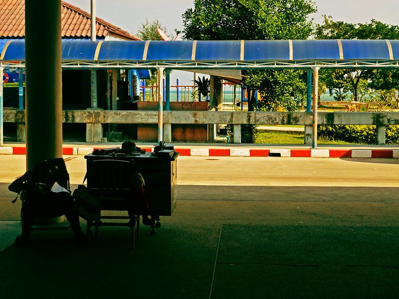 6 - Carnet de Thaïlande - 02 - Port de Thong Sala