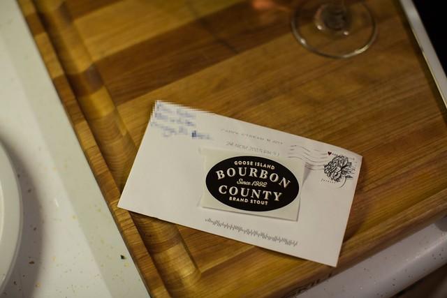 Goose Island Bourbon County Tap Handle