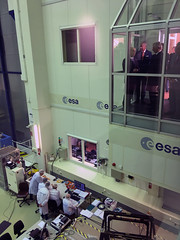 King Philippe views BepiColombo