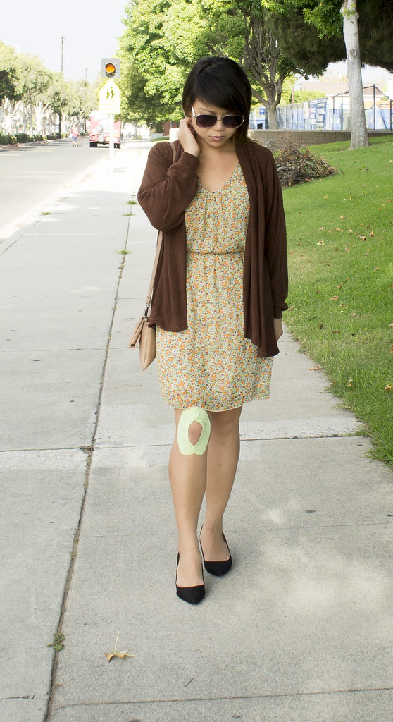 Brown Cardigan for Fall DIY
