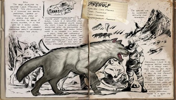 ARK: Survival Evolved Dire Wolf