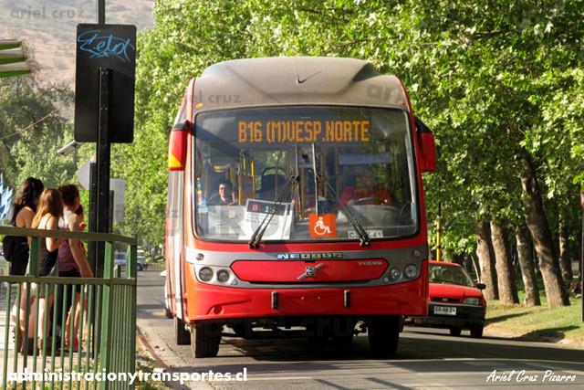 Transantiago - Redbus Urbano - Neobus Mega BRT / Volvo (CJRK41) (1209)