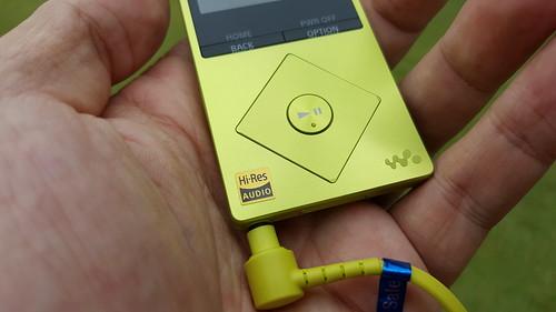 ปุ่มควบคุม 5 ทิศทาง ของ Sony NW-A25