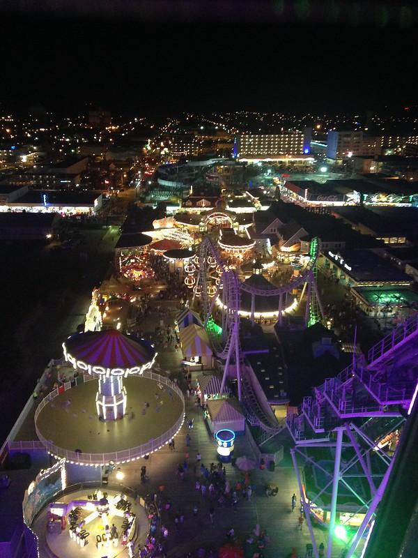 Night View from Giant Wheel Wildwood