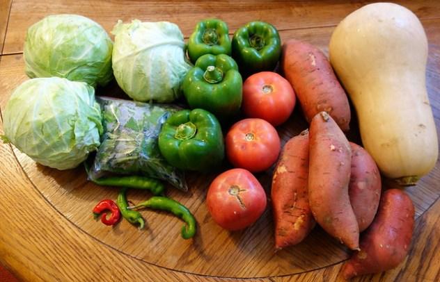 Homestead Creamery Week 23 Vegetable Delivery